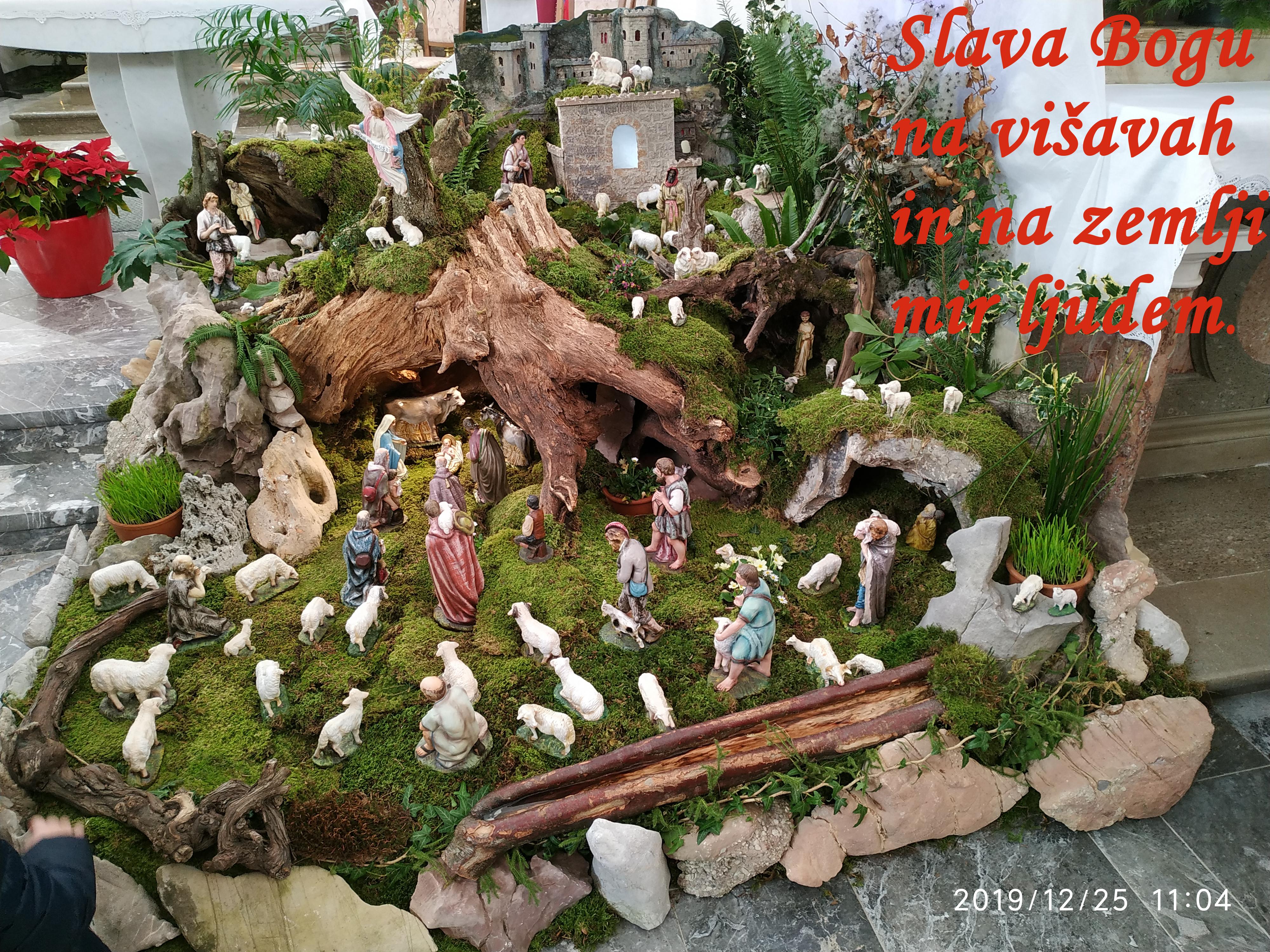 Blagoslovljen Bozic Jasčlice Rovte