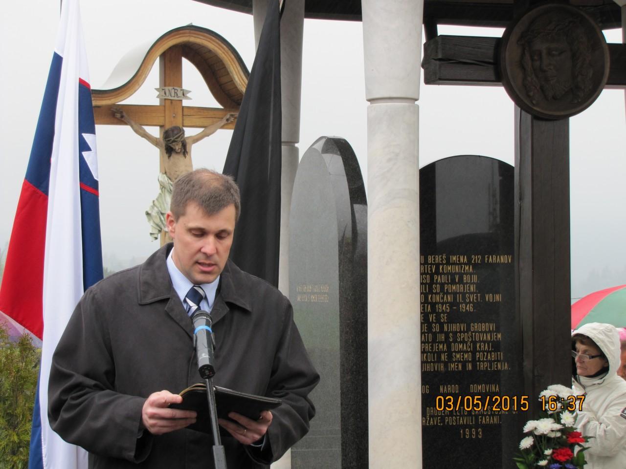 Peter Sušnik, predsednik Nove Slovenske Zaveze