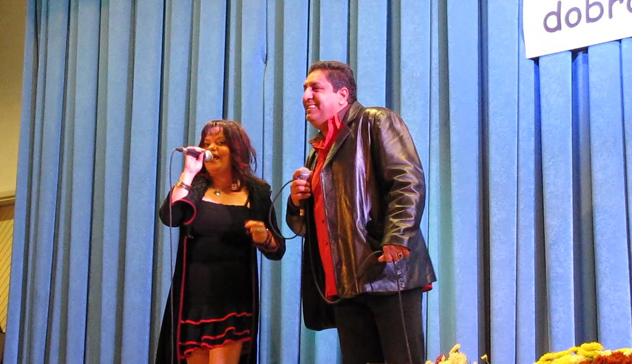 Slovenski duet SINJI GALEB, Nataše in Saša