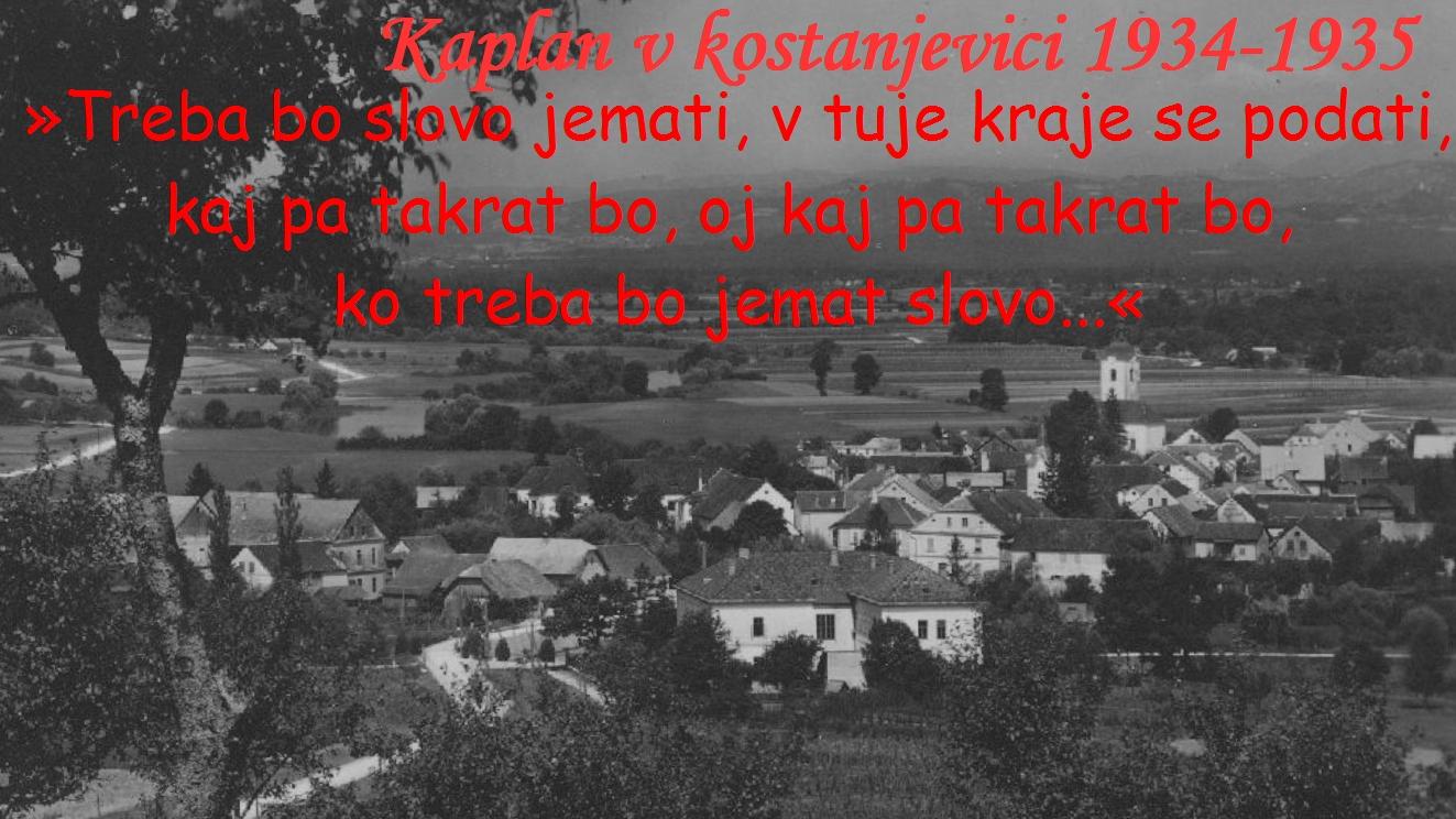 Poslovil še v Metliki in Kostanjevici