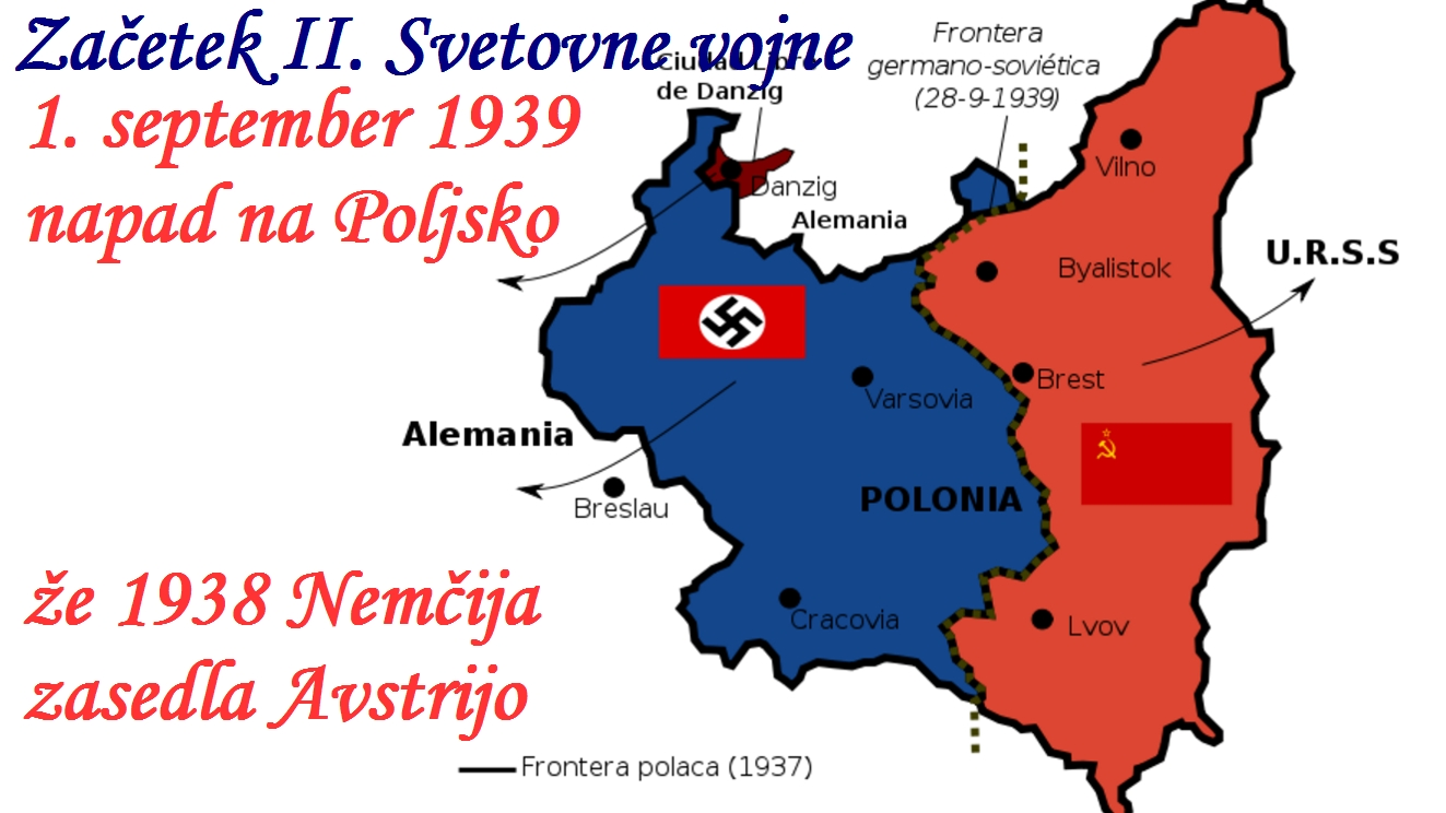 »Začel se je vojni ples. Hitler je vdrl na Poljsko«