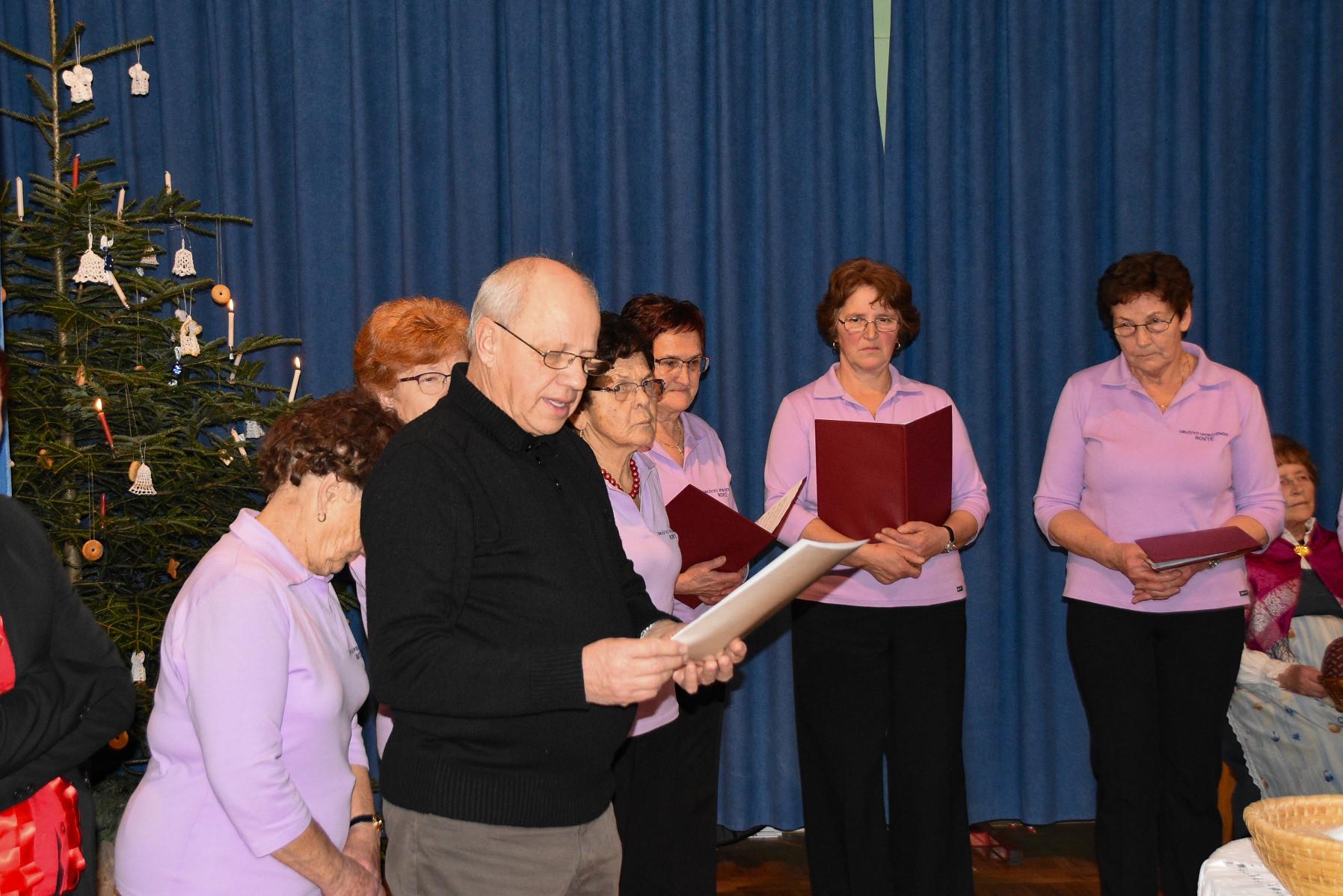 Nagovor ob otvoritvi razstave Božični čas, Janez Jereb