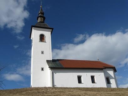 Podružnična cerkev sv. Nikolaj (Miklavž) Praprotno Brdo