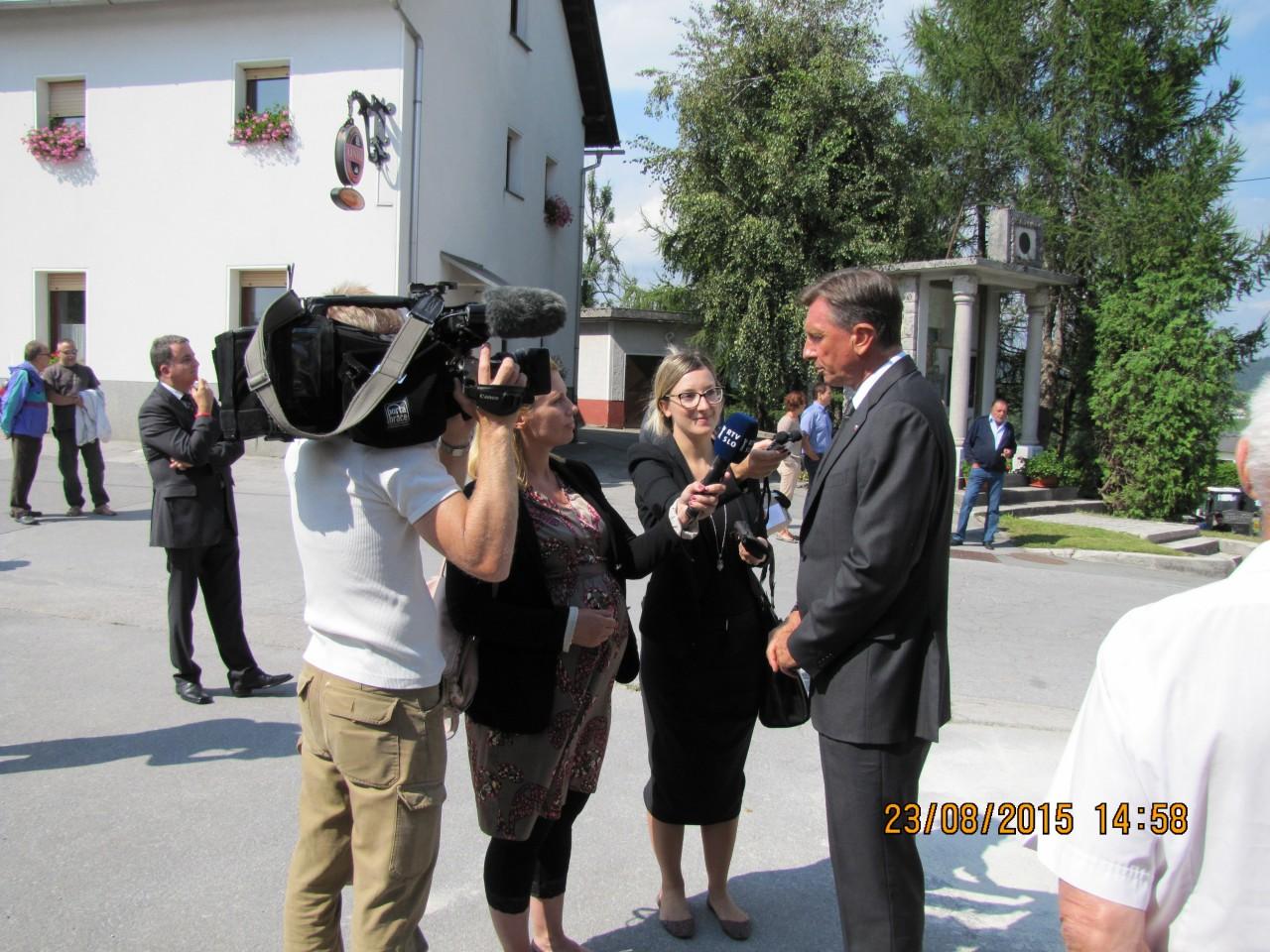 Rovte ob evropskem dnevu totalitarnih in avtoritarnih režimov 23. avgust 2015, Izjava za medije Borut Pahor